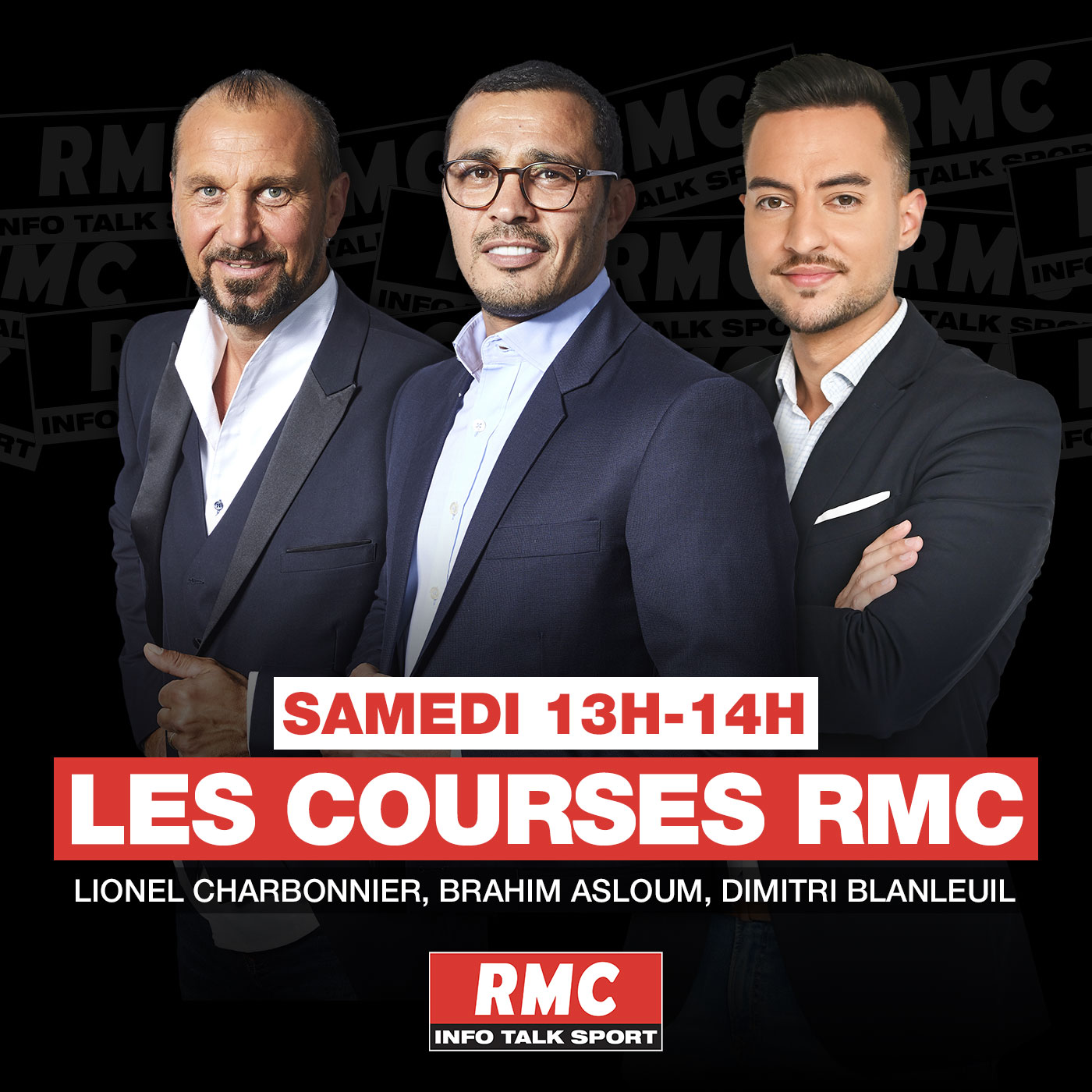 Image 1: Podcast Les courses RMC
