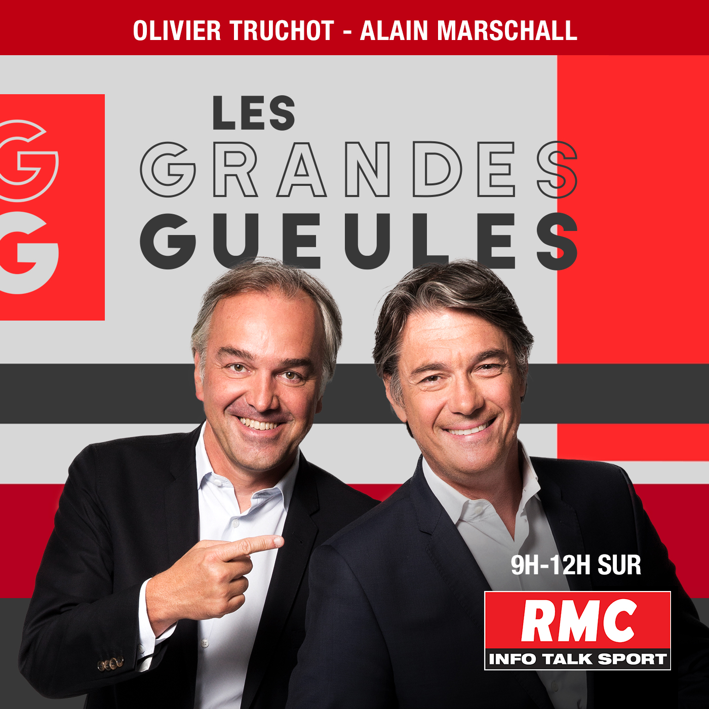Radio - RMC, Les Grandes Gueules - Podcast
