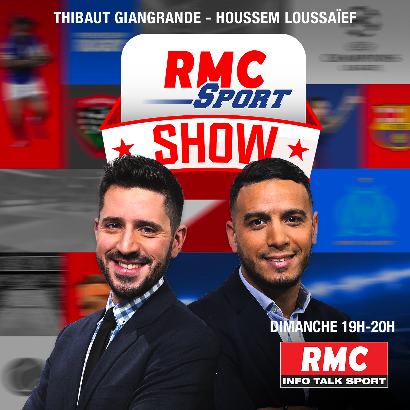 Image 1: Podcast RMC Sport Show